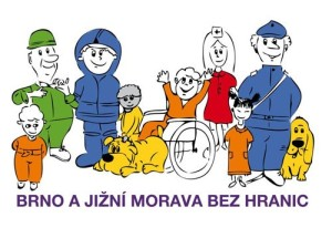 Brno a JM bez hranic-logo